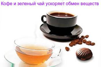 кофе ускоряет обмен веществ