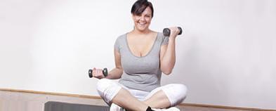 похудение с помощью физических упражнений