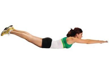 Пилатес упражнение для похудения.