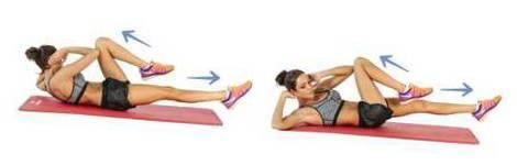 наиболее эффективные упражнения для уменьшения живота