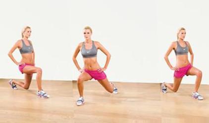 Упражнения утром для похудения