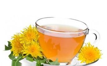 чай листьев одуванчиков